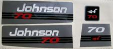 Johnson Outboard Decals 60/70 hp 1993
