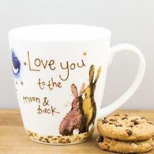 New Churchill Alex Clark Love You To The Moon Bone China Gift Mug Coffee Cup