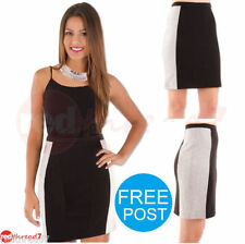 Polyester Straight, Pencil Machine Washable Regular Skirts for Women