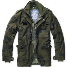 Chaqueta Brandit M-65 Voyager Wool Woodland XXL