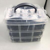 Universal Car Clip Side Skirt Bumper Door Trim Install Push Fastener 620pcs vfg