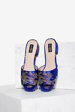 Shellys London Ria Satin Mule - Shoes 37/6.5 new in box