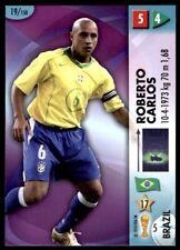 Panini World Cup 2006 Card - Robert Carlos Brazil (Defenders) No. 19