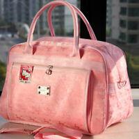 Hello Kitty Mens Womens Canvas Travel Hand Shoulder Bag Large Tote Purse Handbag