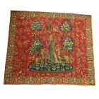 Point Des Meurins Vintage Lady & Unicorn French France Le Toucher VTG Tapestry