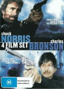 Chuck Norris Charles Bronson Collection DVD New Sealed Australian Release