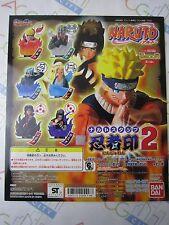 Anime Comic Naruto Stamp Part 2 Gashapon Toy Machine Paper Card Bandai Japan