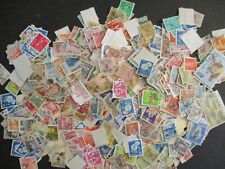 Small Box O lot of China Japan Korea and Other Stamps Off Paper