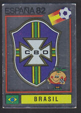 Panini - Espana 82 World Cup - # 364 Brasil Foil Badge