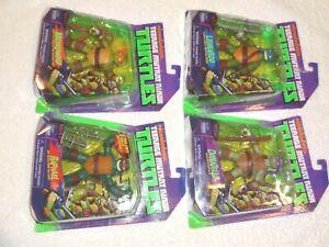2012 TMNT Nickelodeon set of 4 MOC Sealed on card Teenage Mutant Ninja Turtles
