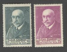 France - Timbres Neufs - Charcot - N°377 et 377A * * TB