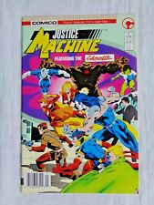 Justice League Featuring Elementals No. 1 May 1986 Comic First Printing NM (9.4)