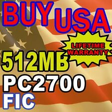 512MB PC2700 FIC MH47 PS3 PS4W LAPTOP Memory RAM