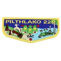 Pilthlako Lodge 229 Flap S29 Okefenokee Area Council Patch GA Boy Scouts BSA OA