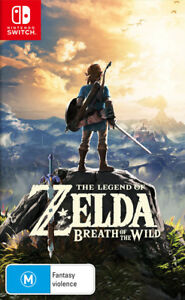 The Legend of Zelda Breath of the Wild Switch Game NEW