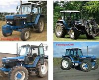 Ford New Holland 40 Series Tractors 5640 6640 7740 7840 8240 8340 Service Manual