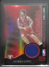 2003-04 Topps Pristine Rookie Challenge Relic Refractor #PC-MJ Marko Jaric No 6