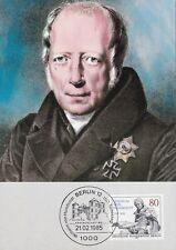 Berlin 1985 Maximumkarte  MiNr. 731  Wilhelm Freiherr von Humboldt