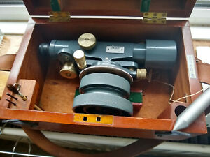 STANLEY PRECISION LEVEL / TELESCOPE / TACHEOMETRICAL 2856/67 BOXED