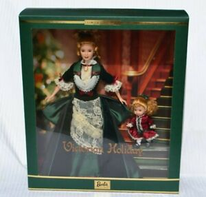Victorian Holiday Barbie & Kelly doll Limited Edition Giftset 2000 New in Box