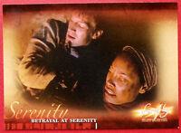 Joss Whedon's FIREFLY - Card #13 - Betrayal at Serenity - Inkworks 2006