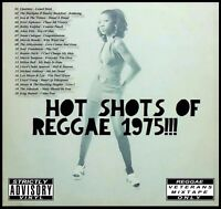 HOT SHOTS OF REGGAE 1975 REVIVAL MIX CD