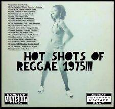 HOT SHOTS OF REGGAE 1975 REVIVAL MIX CD