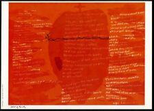 1968 Sister Corita Kent Heart of the City Miguel de Unamuno poem vintage print