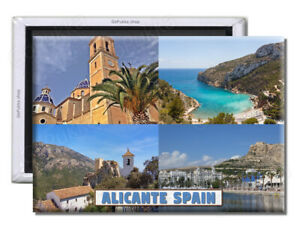 Alicante Spain - Souvenir Fridge Magnet