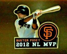 Buster Posey 2012 NL MVP PIN  San Francisco Giants MLB