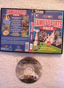 22326 - Family Sports Pack Incredible Arcade Action ! - PC (2002) Windows XP