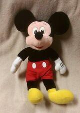 "Vintage MiCKEY MOUSE 16""  Plush Stuffed Toy Doll Walt Disney Red Shorts VGC"