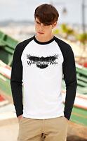 GAME OF THRONES Men Women Long Sleeve T-Shirt Wachers Unisex Baseball Raglan Top