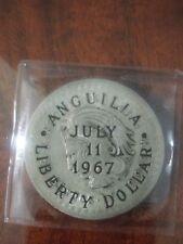 Anguilla 5 Pesos Silver liberty Dollar
