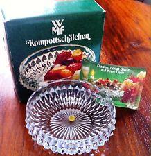 WMF Diadem Kristall Kompottschale Schälchen 12cm OVP
