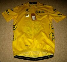 TOUR DE FRANCE 2013 LCS YELLOW LEADERS CYCLING JERSEY [S] BNWT