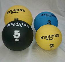 Balón medicinal 8 KG. Para entrenamiento, rehabilitación, ejercicio... Amarillo