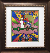 """Peter Max """"Different Drummer"""" NEWLY CUSTOM FRAMED Print Art POP psychedelic Neo"""