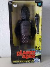 """Planet Of The Apes 12"""" Attar Gorilla Large Action Figure Sealed New 2001 Hasbro"""