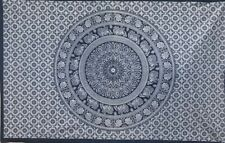 "Blue Indian Mandala Wall Hanging Tapestry Bedding Decor Table Cloth 80x54"" UK"