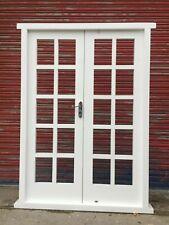 Hardwood Timber 20 panes Georgian style French Doors! Made to measure! Bespoke!