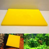 50x50x2 Yellow Biological Cotton Filter Foam Pond Aquarium Fish Tank Sponge Pad