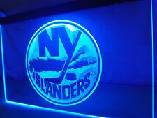 "New York Islanders Led Sign 12"" x 8"" On/Off Switch mancave bar pub"