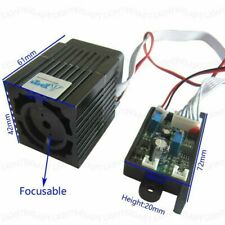 532nm 12V 300mW green laser module + Focusable TTL continuous for DIY Lighting