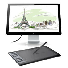 "Huion 10"" x 6.25"" Professional 1060 Pro+ USB Art Drawing Graphic Tablet 5080 LPI"