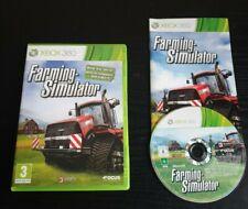 Farming Simulator Xbox 360 Simulation Video Game Manual PAL