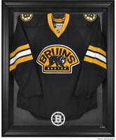 Boston Bruins Black Framed Logo Jersey Display Case - Fanatics Authentic