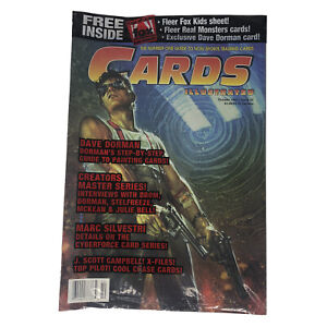 Cards Illustrated Magazine New Sealed Polybag October 1995 Issue 22