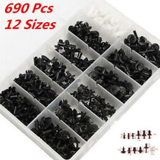 690pcs Car Body Push Pin Rivet Trim Panel Fastener Clip Moulding Assortments HOT