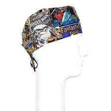 Marvel Avenger Superhero Faces Theme Scrub Hat